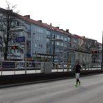 Ich bei Hannover Marathon 2016 auf der Vahrenwalder Str